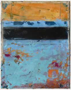 Fresco II by Helene Steene. (Abstract Mixed Media Painting)