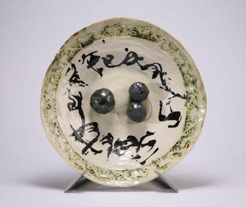 Pearls Scatter by Inge Robert. (European Ceramic Sculpture)
