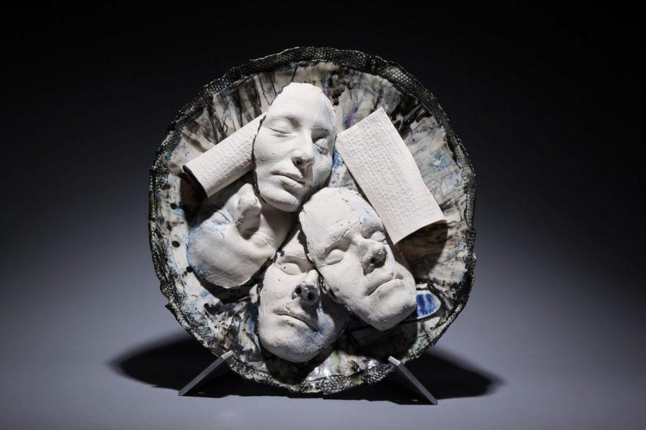 Resting by Inge Roberts. (European Ceramic Sculpture)