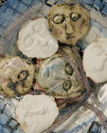 Saint Justin by Inge Roberts. (European Ceramic Sculpture)