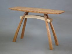 Arc-Trestle Hall Table by Steven M. White