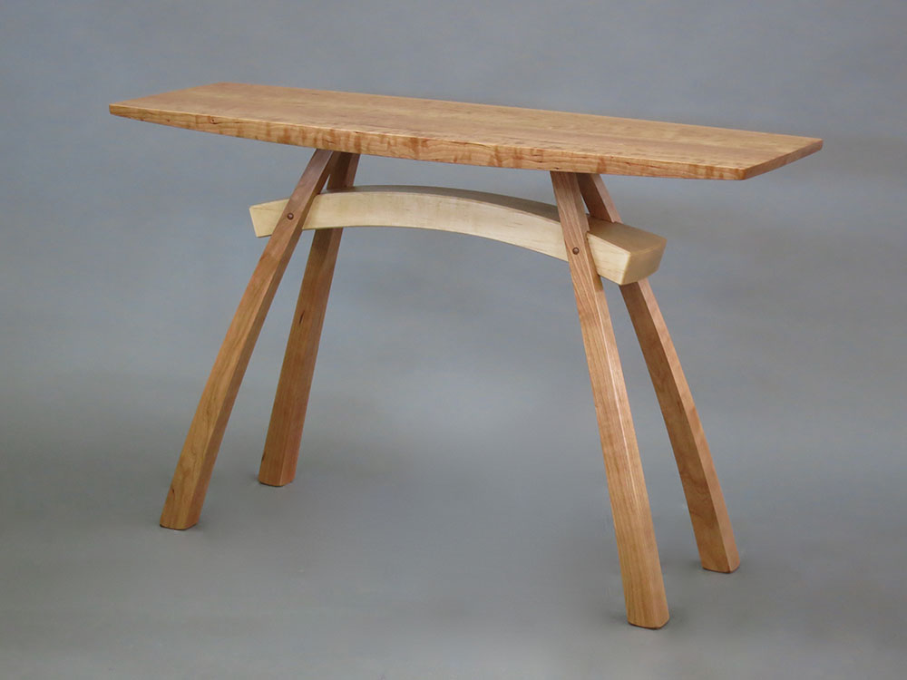 Arc Trestle Hall Table By Steven M White