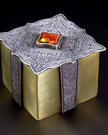 Chinoiserie Box. Art Jewelry by Carol Salisbury