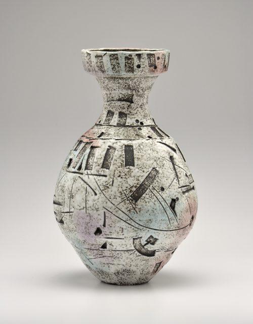Vase. Ceramic Sculpture by Boyan Moskov.