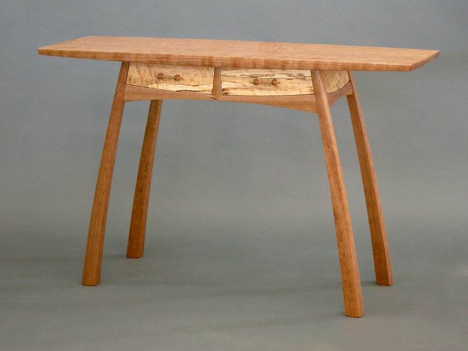 Twin-Drawer Hall Table by Steven M. White