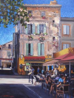 Arles. Oil Painting by Sharon Rusch Shaver