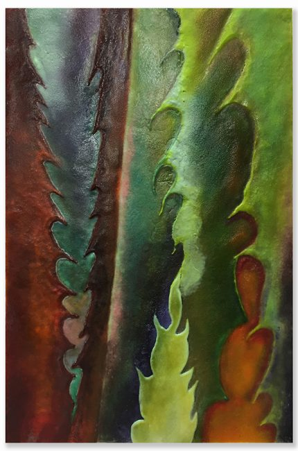 Edges of the Desert. Glass Wall Art by Anne Nye