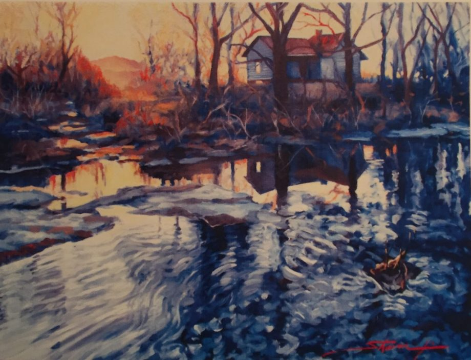 The Gloaming. Oil Painting by Sharon Rusch Shaver