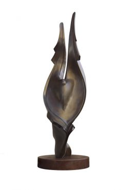 Angelo Scura I by Tom Bollinger (Bronze Sculpture)