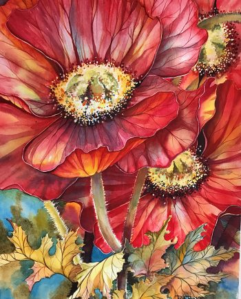 Joy by Pat Banks (Watercolor Painting)