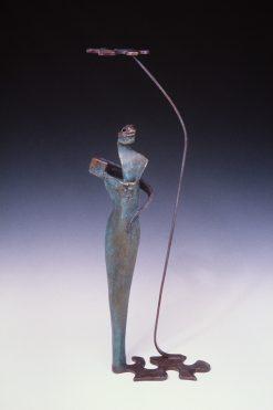 Pandora's Puzzle by Cheryl Barnett (Metal Sculpture)