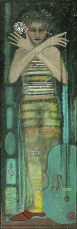Cello by Irene Belknap (Oil Painting)