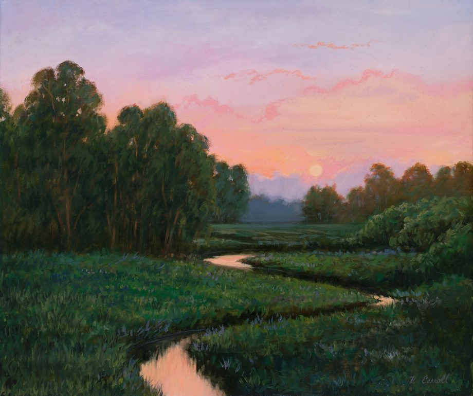 Quiet Reflections by Ruth Carroll (Oil Painting)