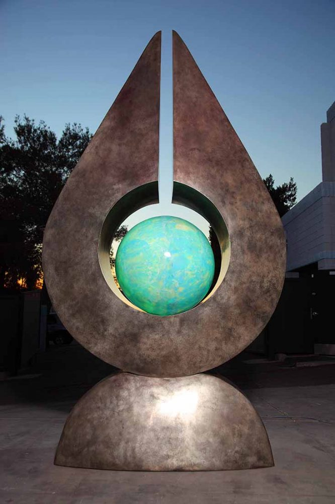 Gaia, Monumental by Tom Bollinger (Bronze Sculpture)