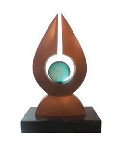 Gaia by Tom Bollinger (Bronze Sculpture)