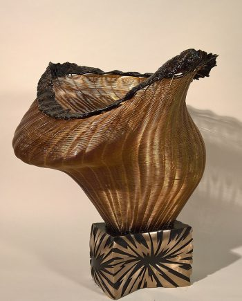 Pandora's Box by Virginia Harrison (Woven Sculpture)