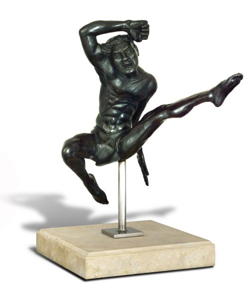 Iccarus by Tom Bollinger (Bronze Sculpture)