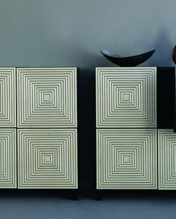 Maze Cabinet by Kevin Irvin (Wooden Cabinet)