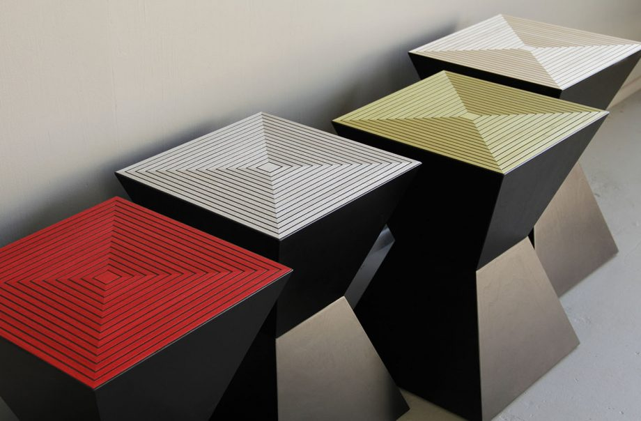 Tux Table by Kevin Irvin (Wooden Table)