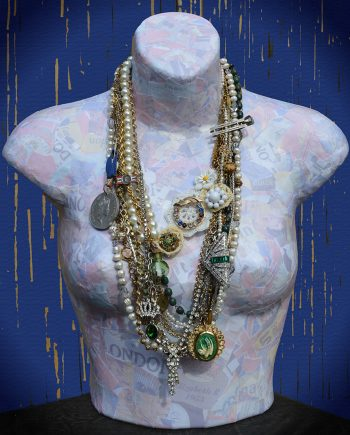 Elizabeth by Monique Landucci (Mixed Media Necklace)