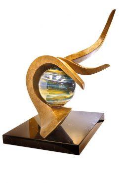 Origin by Tom Bollinger (Bronze Sculpture)