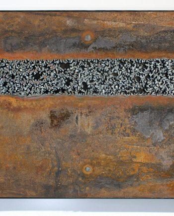 Counterpoint by Jillian Pate (Metal Wall Sculpture)