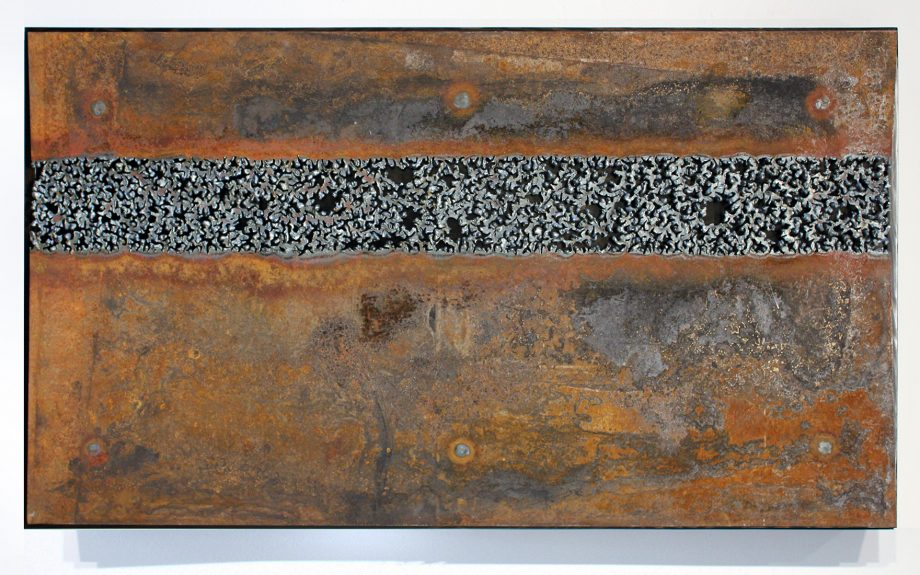 Counterpoint by Jillian Pate (Metal Wall Sculpture)