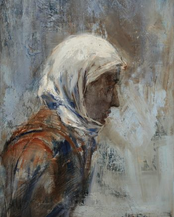 Woman from Tangier by Olga Porter (Oil Painting)