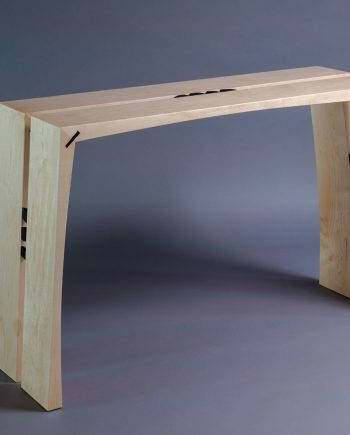 Split by Alan Powell (Wooden Console)
