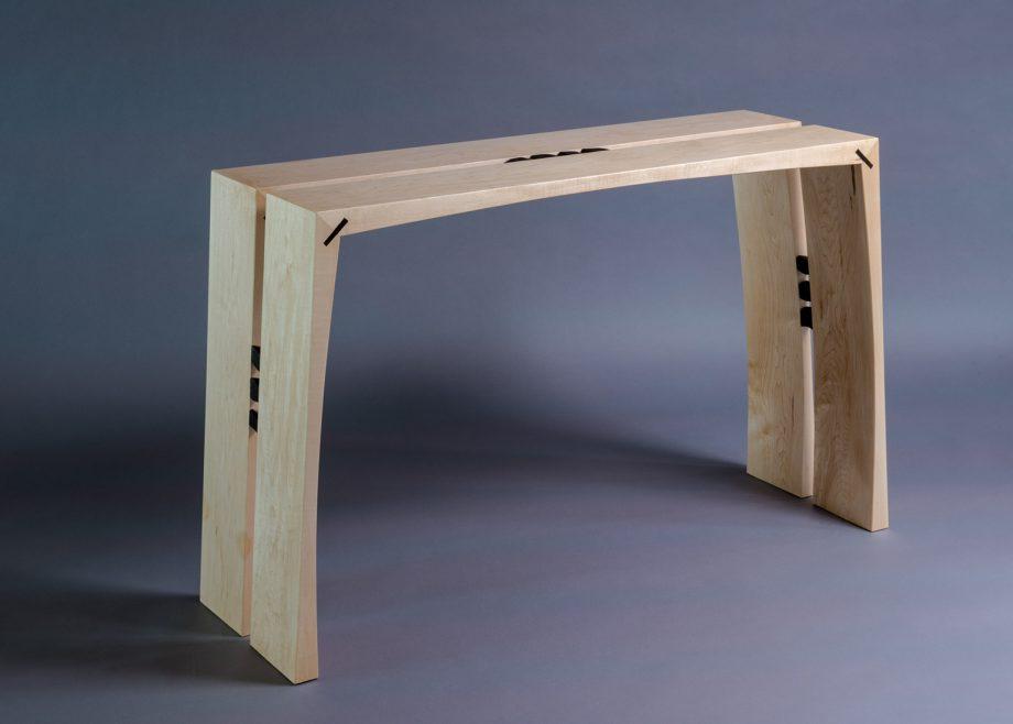 Split by Alan Powell (Wooden Console)