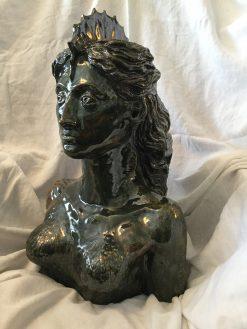 Mermaid 3 by Wendy Rabin (Ceramic Sculpture)