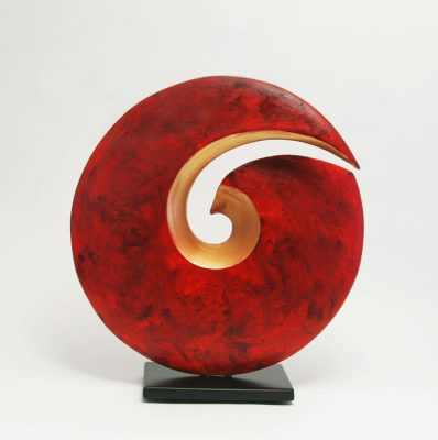 Red Spiral Sculpture IMG_9167