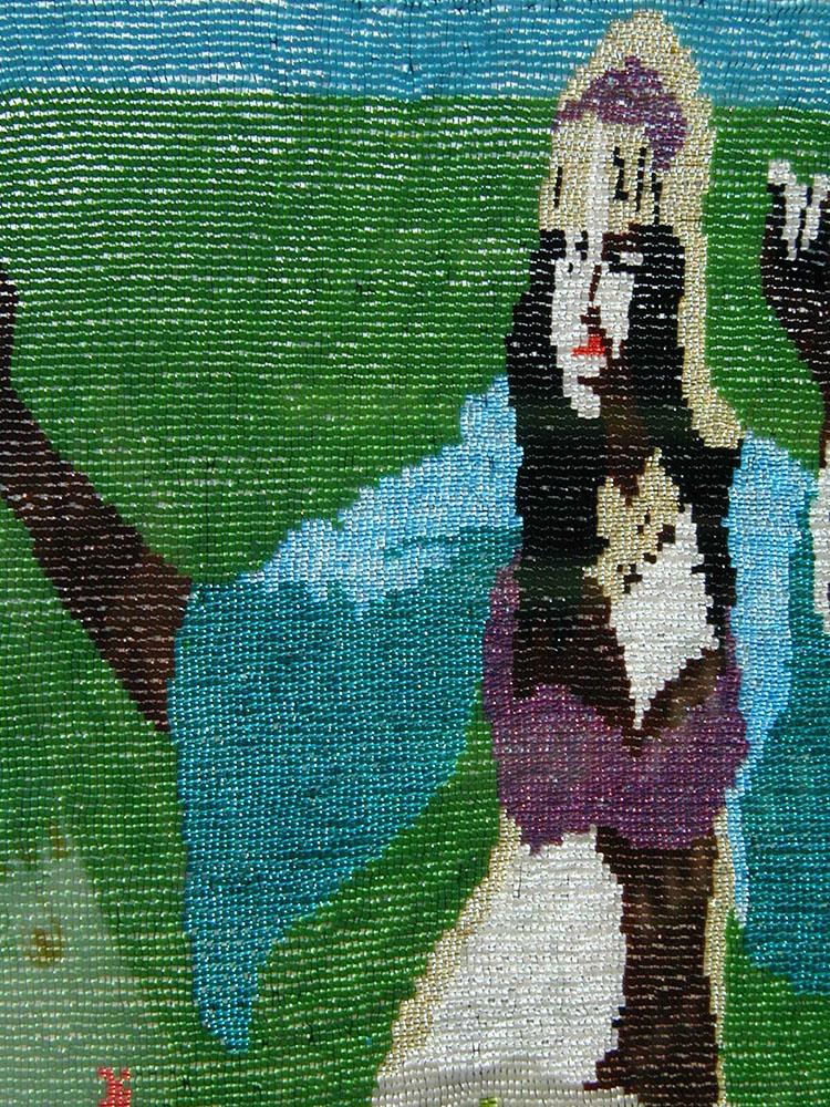Dark Dancer by Rachel Rose (Fiber Wall Art)