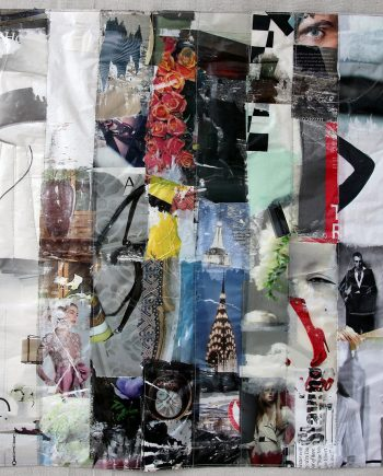 NYC by Joan Schulze (Textile Wall Art)
