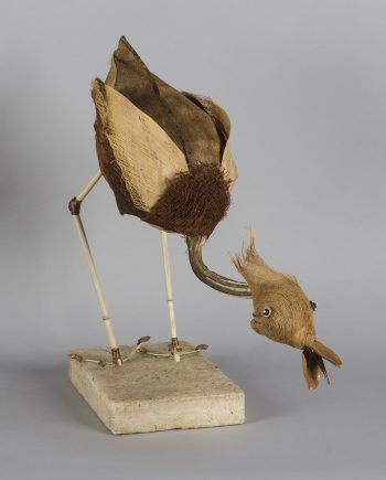 Honker by Phyllis B Thelen (Fiber Assemblage)