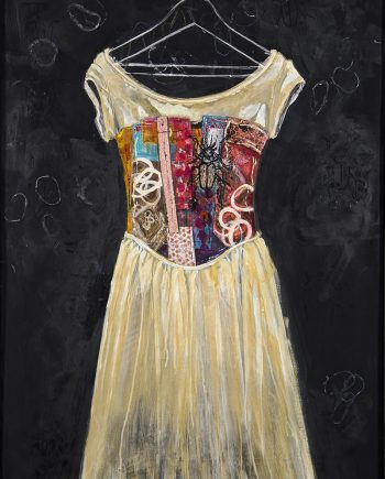 Wedding Dress Realigned by Pamela Underwood (Acrylic Painting)