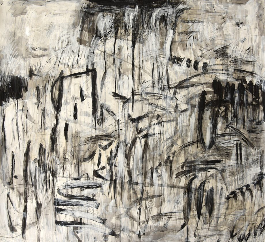 How Can Things Be Unpredictable by Kathryn Arnold (Mixed Media Painting)