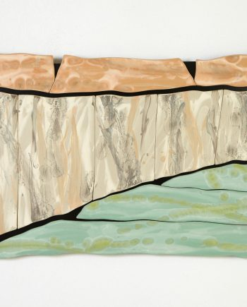 Canyon Deconstructed by Kristi Sloniger (Ceramic Wall Sculpture) | American Artwork