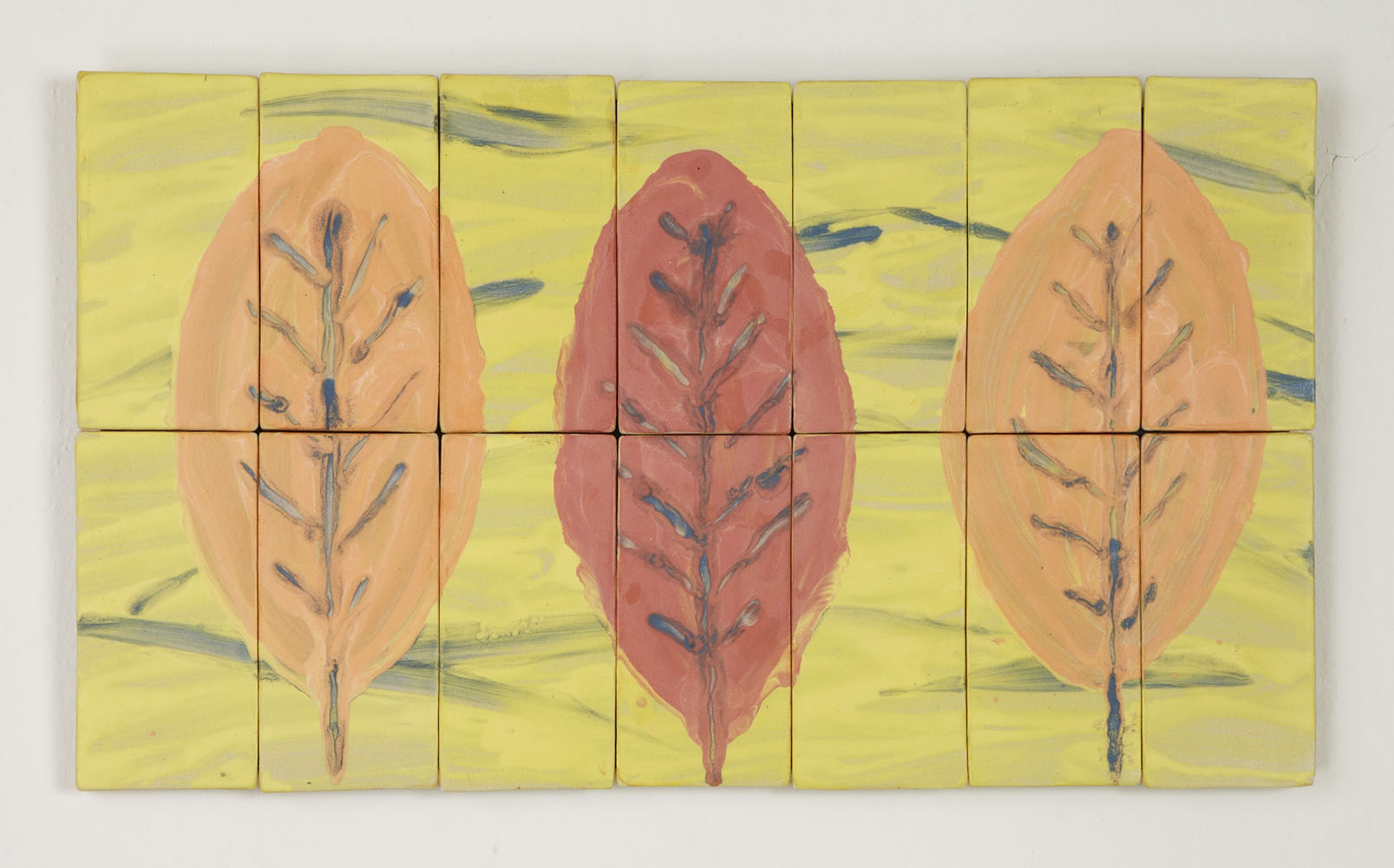 Large Leaf Study by Kristi Sloniger (Ceramic Wall Sculpture ...