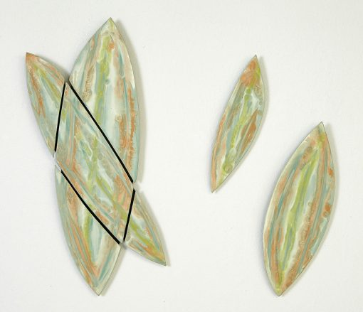 Miami Leaves by Kristi Sloniger (Ceramic Wall Sculpture) | American Artwork