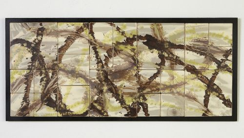 Motion by Kristi Sloniger (Ceramic Wall Sculpture) | American Artwork