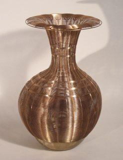 Aricia by Virginia Harrison (Woven Bronze Sculpture) | American Artwork