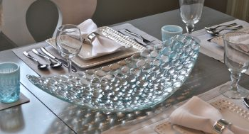 Bubble Platter by Bonnie Rubenstein (Art Glass Platter) | American Artwork