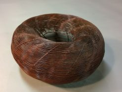 Chanoya by Virginia Harrison (Woven Bronze Sculpture) | American Artwork