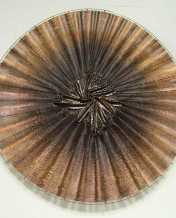 Estrella by Virginia Harrison (Woven Bronze Sculpture) | American Artwork