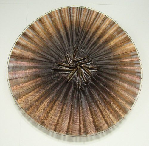 Estrella by Virginia Harrison (Woven Bronze Sculpture) | American Artwork