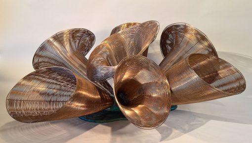 Fanfare by Virginia Harrison (Woven Bronze Sculpture) | American Artwork