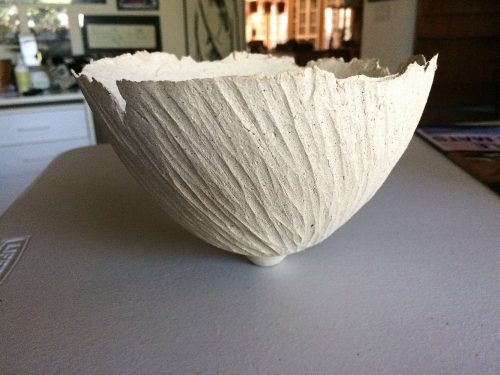 Grooved Bowl by Kris Marubayashi (Ceramic Vessel) | American Artwork