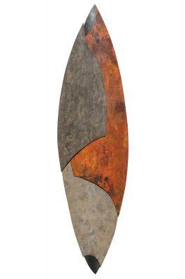 Metal Wall Sculpture by Bowman Studio