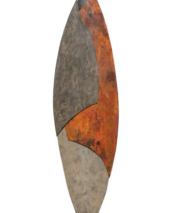 Metal Wall Sculpture by Bowman Studio